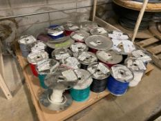 Pallet of Asst. 18AWG Electrical Wire