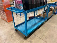 """2-Tier 48"""" Warehouse Shop Cart"""