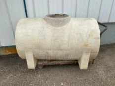 Poly Tank w/ 4-Wheel Dolly (Located at 14510 124th Ave NW Edmonton)