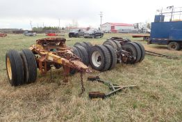 Lot of T/A Hendrickson Rear Suspension, S/A 5th-Wheel Converter and Wagon S/A Front Hitch.