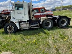 2001 Freightliner FLD112 Tandem Axle Cab and Chasis. VIN 1FUJACAS71LH87575.