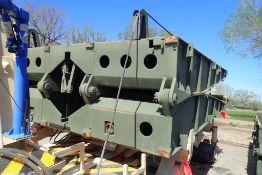 """Inter-Commerz 60T Portable 32'x12'6"""" Bridge Section w/8 Handrails."""