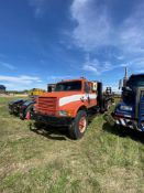 International Tandem Axle Deck Truck. NVSN.