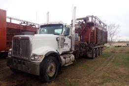 2008 International Paystar 5900 Tridem Axle Pump Truck, VIN 1HTXTAPT88J676331.