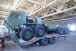 1986 Oshkosh M977 Tandem Tandem 6x6 Military Truck, VIN 10T2K1J2461029719- NOTE:NOT RUNNING.