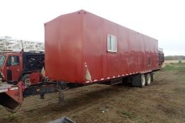 2010 Mustang Tandem Axle Doghouse Trailer, VIN SK401308375.