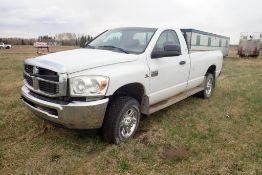 2007 Dodge Ram 2500HD Regular Cab 4x4 Pickup Truck, VIN 3D7KS26C37G703443. NOTE: NOT OPERATIONAL.