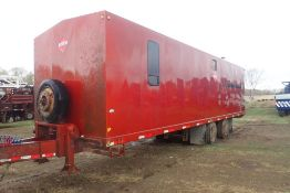 2006 Trailer Mounted Tandem Axle Doghouse, VIN MWS2010004.