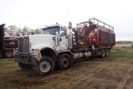 2007 International Paystar 5900 Tandem Tandem Pump Truck, VIN 1HTXRAPT87J426696.