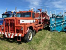 International Paystar 5000 Tandem Axle Pump Truck, NVSN.