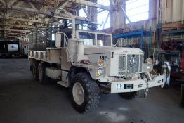 1970 AM General M35A3 Tandem Axle 2 1/2-ton Crew Support Cargo Truck, VIN AMG 1970-8888-2554-102.