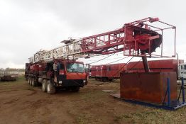 2010 Crane Carrier DR20106 72' Single Stiff Mast Mobile Service Rig, VIN 1CYEGW68X6T047012.