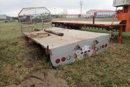 """Steel 16'x8'2"""" Truck Deck w/ Live Roll."""