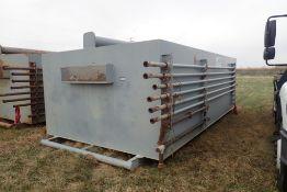 "Skidded 200bbl Flowback Tank w/ Asst. 2"" Line Pipe."