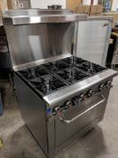 """36"""" COMMERCIAL GAS RANGE, NATURAL GAS - OMCAN 43151"""