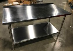 """HIGH QUALITY 30"""" X 60"""" ALL STAINLESS TABLE, NEW SCRATCH/DENT"""