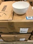 """2 CASES OF DUDSON CLASSIC 5 1/8"""" CHEF'S BOWL - 18/CASE, MADE IN ENGLAND"""