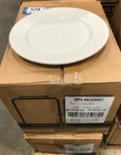 """2 CASES OF DUDSON CLASSIC 7"""" PLATE - 36/CASE, MADE IN ENGLAND"""