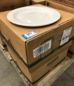 """2 CASES OF DUDSON CLASSIC 11"""" PLATE - 12/CASE, MADE IN ENGLAND"""