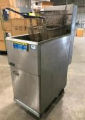 PITCO 40C+ FLOOR TUBE FIRED NATURAL GAS FRYER
