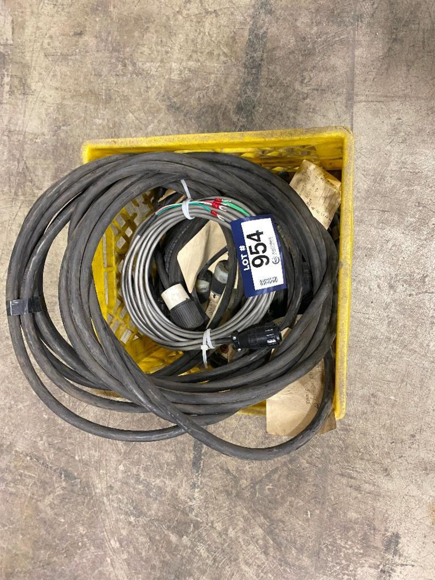 Crate of Asst. Miller Cables