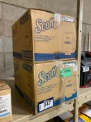 Lot of (2) Scott Touchless Paper Towel Dispensers