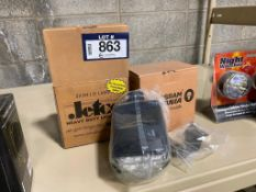 Lot of (2) Jetco 3X3 HID LAMP