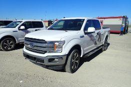 2019 Ford F150 Lariat Super Crew Cab 4x4 Pickup Truck. VIN 1FTEW1E59KKE00922.