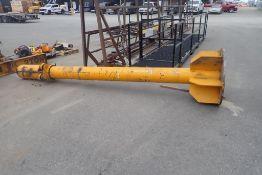 2-ton Jib Crane Pole- NO ARM OR CHAIN HOIST.