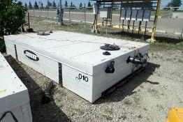 Streamline 1,000gal Portable Heated Sewage Tank.