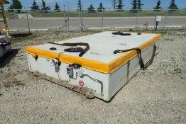 LeGrange Mechanical 1,000gal Portable Heated Sewage Tank.