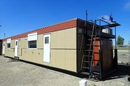 2015 Denille Industries 12'x56' Skidded Rig Manager Shack. SN 1256WS2015044740.