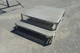 "Aluminum 48""x60""x20"" Stairs."