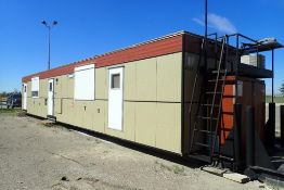 2015 Denille Industries 12'x56' Skidded Rig Manager Shack. SN 1256WS2015064764.