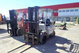 Hyster H50XM 4,250lbs Capacity LPG Forklift. SN H177B827372Y.