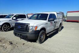 2011 Ford F150 XL Super Cab 4x4 Pickup Truck. VIN 1FTFX1EF4BKE19890.
