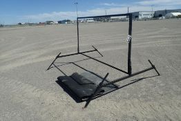 Lot of Portable Sign Board and Asst. Rubber Mats.