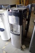 Lot of Whirlpool Bottom Water Jug Storage Hot/Cold Water Dispenser and Bottle Storage Stand.