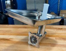 ALL STAINLESS #12 MEAT GRINDER ATTACHMENT FOR MIXERS