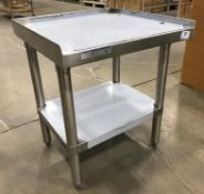 """20"""" X 20"""" HIGH QUALITY ALL STAINLESS EQUIPMENT STAND"""