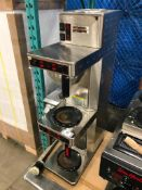 NEWCO DB2A AUTOMATIC BREWER WITH WARMERS & POUR-OVER