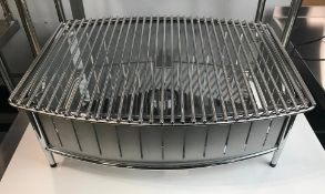 """21"""" X 16"""" STAINLESS STEEL BUFFET STATION W/GRILL, VOLLRATH 4667580"""