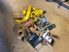 Lot of Asst. Hand Winches, etc.