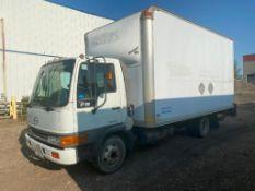 2002 HINO FB Diesel Van VIN #: JHBFB4JG821S12429