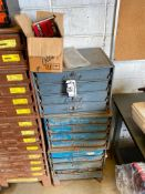 Lot of (12) Parts Drawers w/ Asst. Contents