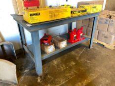 "36"" X 60"" Steel Welding Table"