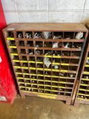 80-Compartment Parts Bin including Bolts, etc.