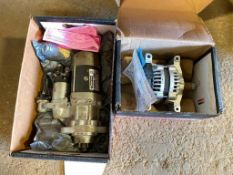 Lot of Delco Remy Alternator and Starter