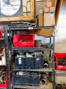 Lot of Contents of Shelves including Asst. Cam-Lock Connectors, etc. (Shelves Not Included)