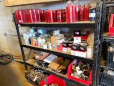 Contents of Racking including Oil Filters, etc. (Racking, Chains, Not included)